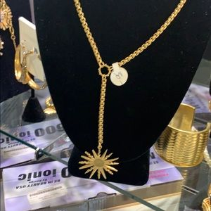 Gold 16 inch  necklace